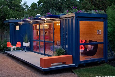 living in a shipping container the new look of affordable