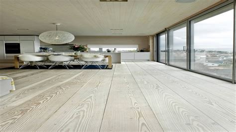Vinyl plank for bathroom floor, kitchen with white washed