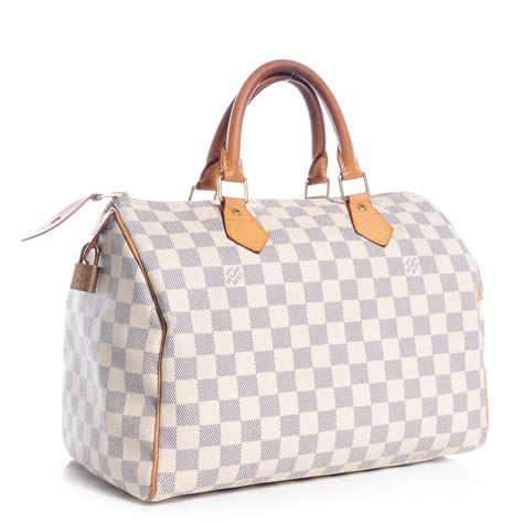 Louis Vuitton Speedy Bandou Damier Sz 25cm louis vuitton damier azur speedy 30 72678