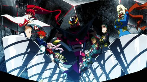 kiss anime gurren lagann heaven piercing giga drill gurren lagann amv youtube