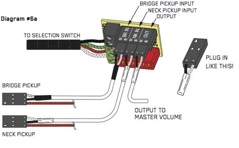 emg solderless 5 way switch wiring diagram circuit