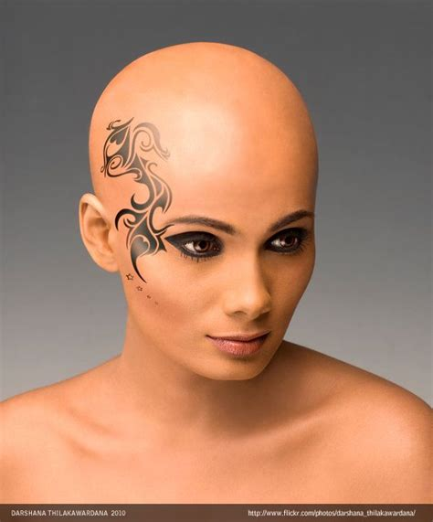 bald tattoo best 25 bald fashion ideas on bald