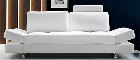 cute couches 6 white leather sofas for every modern living room cute