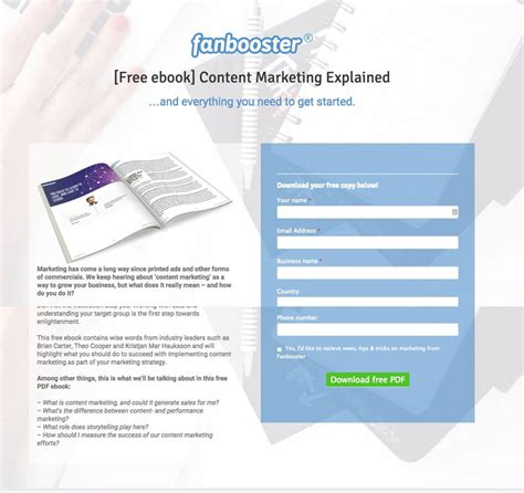 opt in page templates 5 opt in page exles that work and 1 that doesn t