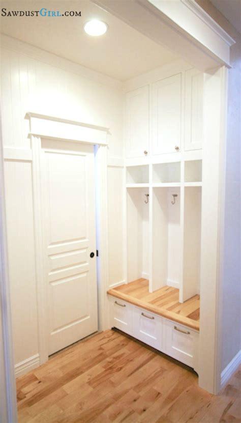 built  mudroom lockers