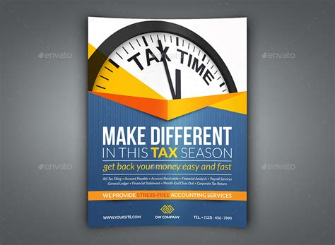 accounting flyer templates tax and accounting flyer template by owpictures graphicriver