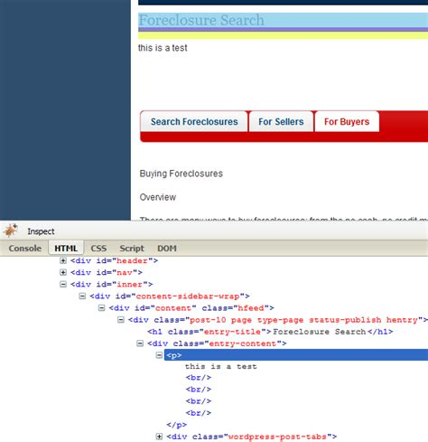 html format line break html removing line break tags from a page wordpress