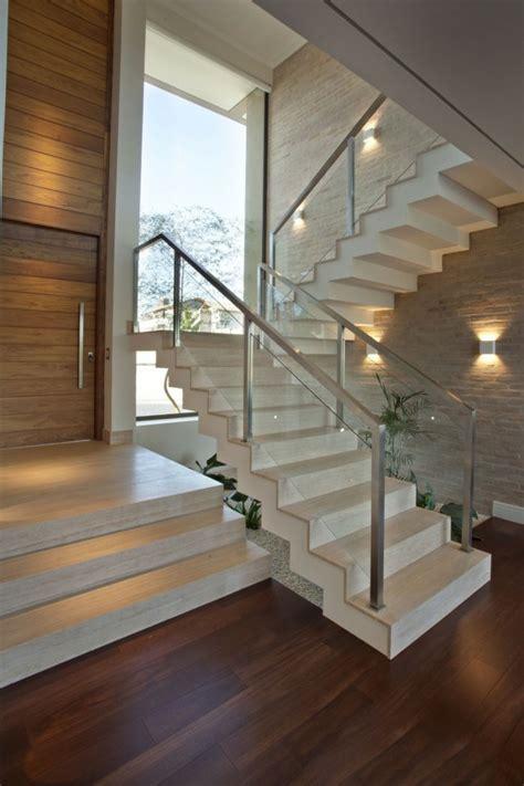 barandillas de escaleras interiores barandillas vidrio y otros materiales 50 escaleras de