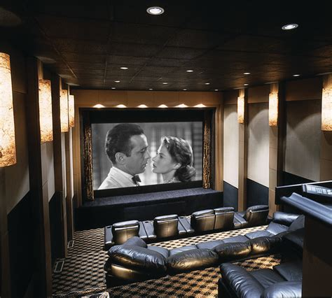home theater  stage contemporary home theater