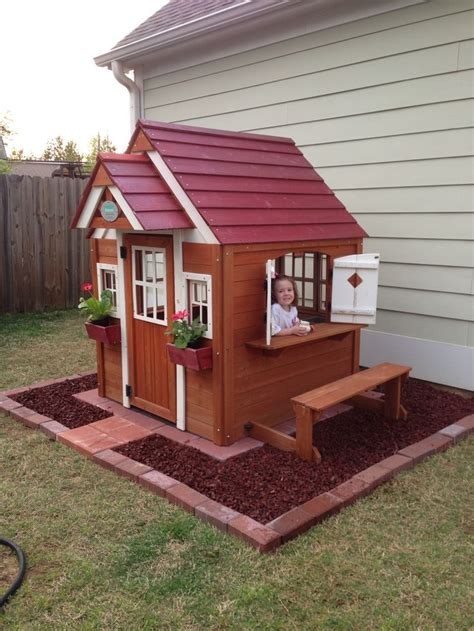 backyard play houses best 25 painted playhouse ideas on plastic playhouse childrens plastic