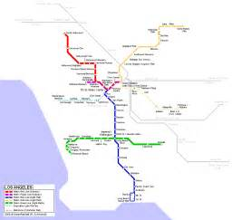 La Metro System Map by 301 Moved Permanently