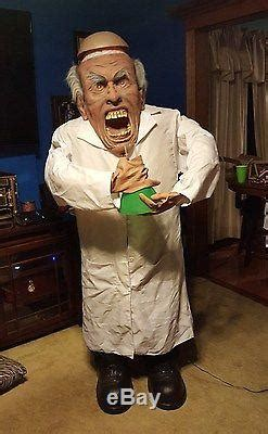 spirit halloween animated mad scientist halloween prop