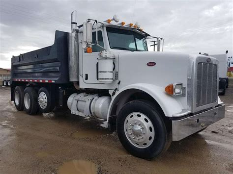 peterbilt dump truck 2008 peterbilt 367 heavy duty dump truck for sale