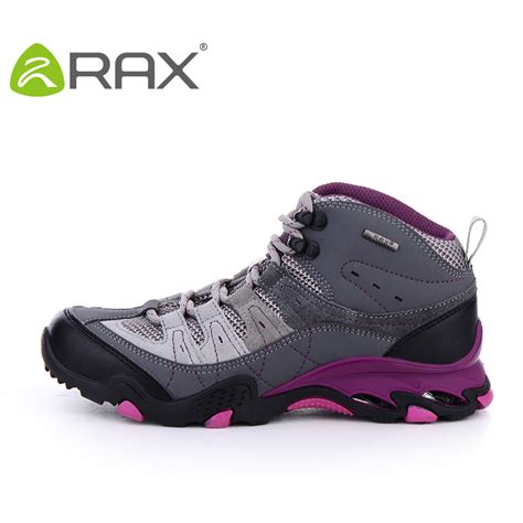 rax waterproof outdoor hiking shoes breathable suede