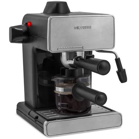 espresso maker how it mr coffee espresso maker refurbished