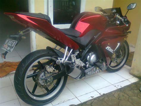 Modif Rx King Warna Merah Marun by Vixion Sport Elegan Model R125 Merdeka