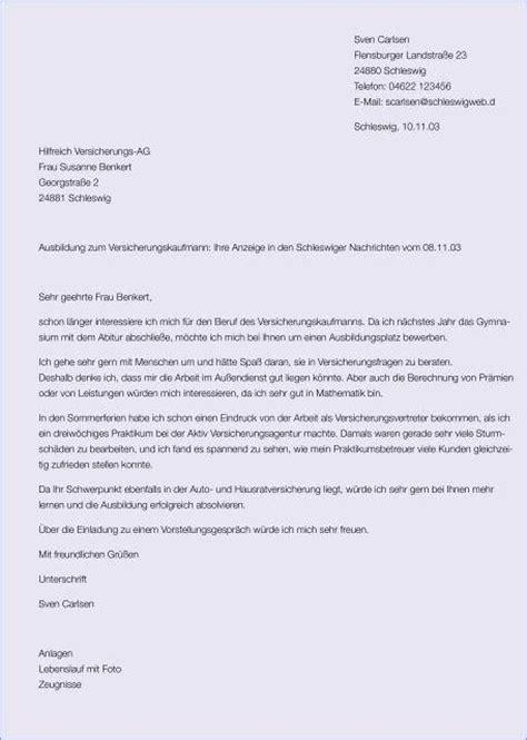 Anschreiben Bewerbung Zuruck Finanz Berufs Branche Gelungenes Anschreiben