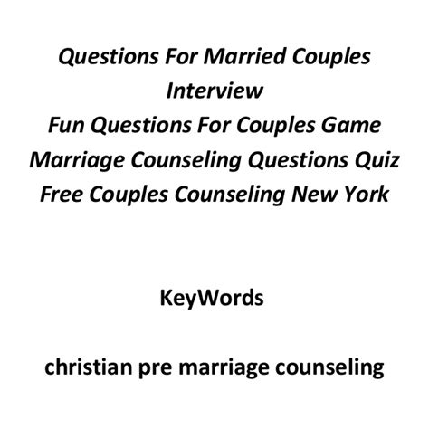 Pre-Marriage counseling seventh-day adventists