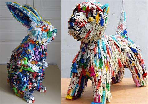 imagenes de animales reciclados manualidades de reciclaje y reciclaje diy uma manualidades