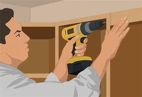 tools needed to install kitchen cabinets wall cabinet installation guide at the home depot