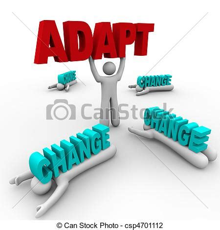 Small Efficient Home Plans clip art of one stands holding word adapt others crushed