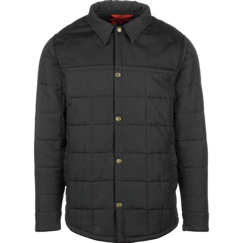 Quilted Shirt Jacket by Airblaster Quilted Shirt Jacket S Backcountry