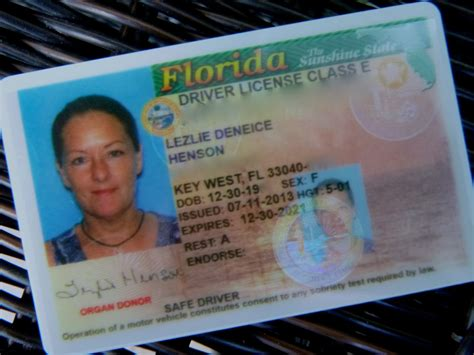 florida drivers license template lezlie s world florida resident