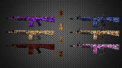 fixed colorful camouflage aa 12 weapon skin pack killing floor 2 gt skins gt weapons gamebanana