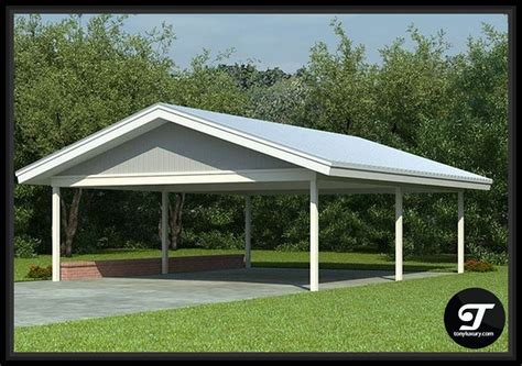 carport design plans open carport designs house plans
