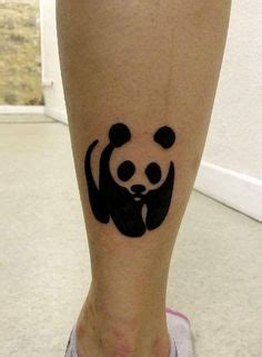 panda tattoo wwf tattoo by ginger pepper tatouage fleur de lys et papillons