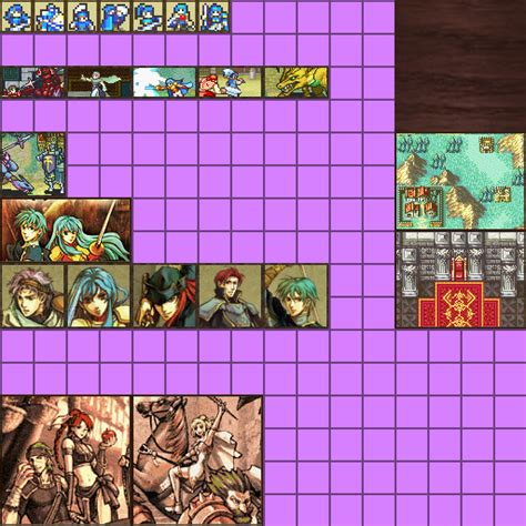 Minecraft Texture Pack Paintings - fire emblem sacred stones 512 x 512 paintings wip mods discussion minecraft mods