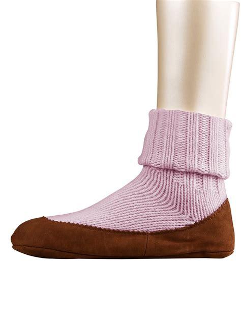 falke cottage sock damessokken huissokken