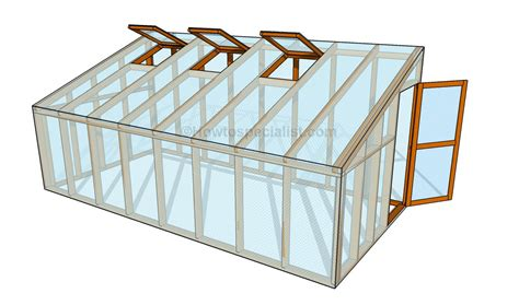 design brief of greenhouse how to build a lean to greenhouse howtospecialist how