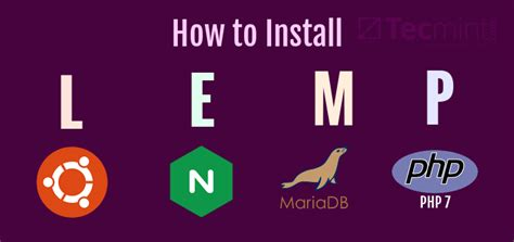 docker lemp tutorial how to install nginx mariadb 10 php 7 lemp stack in 16