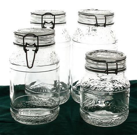 Fashioned Kitchen Canisters by Canisters Extraordinary Fashioned Glass Canisters