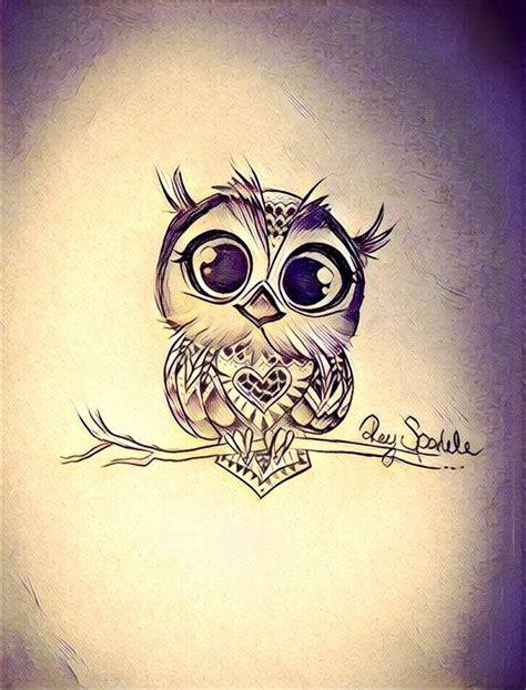 cute owl tattoo design owl cute tattoo tattoo pinterest owl dream big