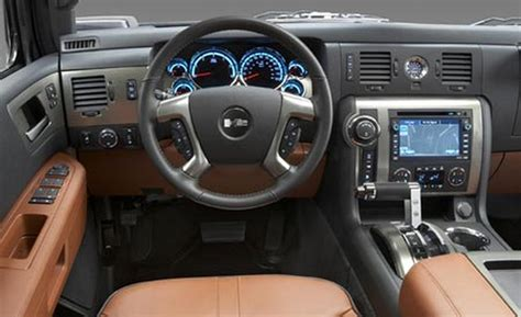 Hummer Interior by Car And Driver