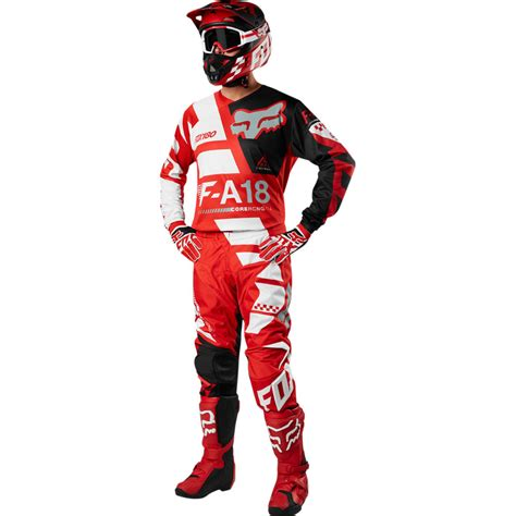 youth fox motocross gear 2018 fox racing youth 180 sayak gear kit red sixstar racing