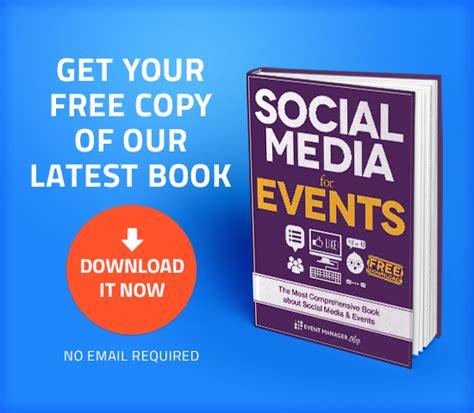 free ebooks social media for events a free ebook for eventprofs