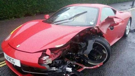 8 Ferrari Accident by Ferrari Crash 7 Real And Ghastly Ferrari Accident Cases