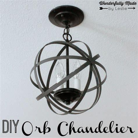 Orb Chandelier Diy Weekend Wandering Living Well Spending Less 174