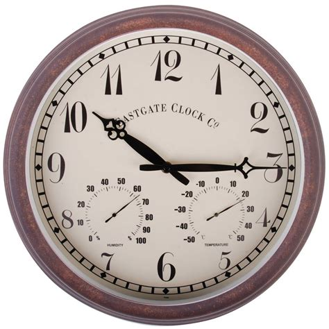 horloge exterieure horloge thermom 232 tre hygrom 232 tre ext 233 rieure