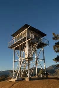 lookout tower plans fire tower lookout a day and night above the clouds at the morton peak fire tower the