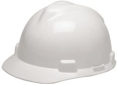 most comfortable hard hat msa 475358 white v gard slotted cap style hard hat