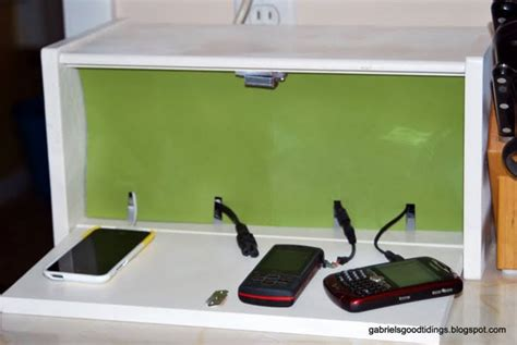 charging station box 20 mind blowing diy new uses for old things the art in life