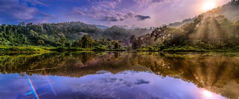 gunung danau spektakuler milik sukabumi