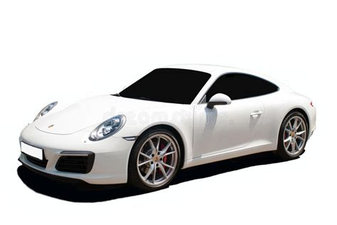 porsche transparent white porsche 911 a transparent background