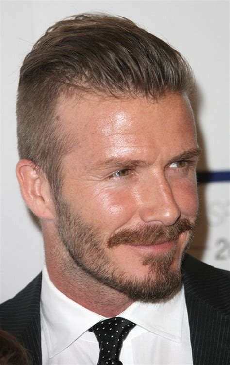 Beckhams New Hair Do by David Beckham New Hairstyle 2012 Stylish