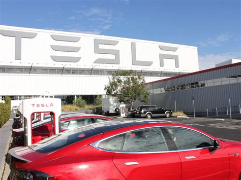 tesla fremont california tour of the tesla factory business insider