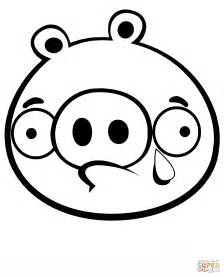 coloring pages of angry birds pigs crying minion pig coloring page free printable coloring